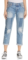 Levi's 501 Boyfriend Jeans in Stacked Patch