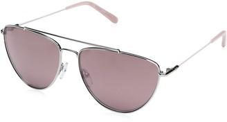 Diane von Furstenberg Women's DVF122S Krista Aviator Sunglasses