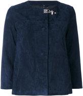 Fay cropped sleeve jacket