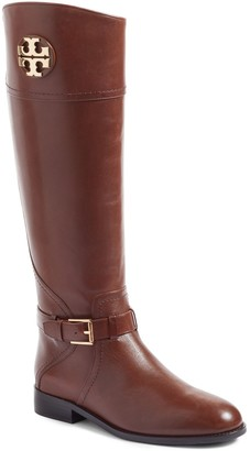 Tory Burch Adeline Leather Riding Boot