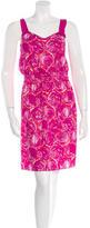 Tory Burch Printed Slip Dress