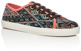 Sam Edelman Girls' Naomi Woven Slip On Sneakers