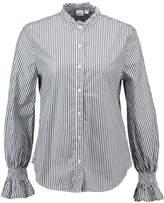 Gap SMOCK CUFF RUFFLE Shirt navy white