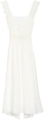Nostalgia Apparel Lace Strap Tank Dress