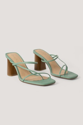 NA-KD Fine Strappy Block Heel Sandals