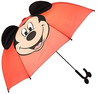 Western Chief Mickey Mouse Umbrella (Toddler/Little Kids/Big Kids) (Red) Umbrella