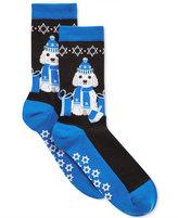 Hot Sox Women's Dreidel Dog Socks