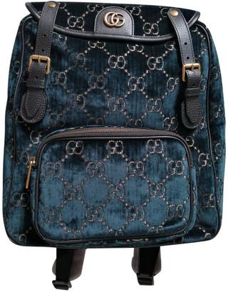 Gucci Navy Velvet Bags