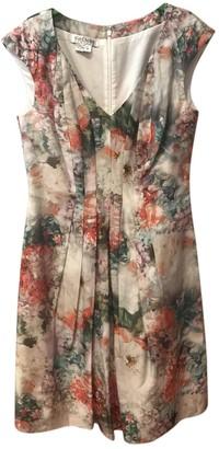 Kay Unger Multicolour Cotton Dress for Women