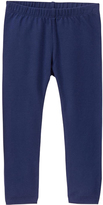 Gymboree Bulldozer Blue Bow-Accent Leggings - Infant & Toddler