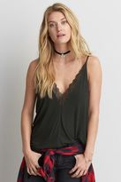 American Eagle Outfitters AE Soft & Sexy Double Lace Cami