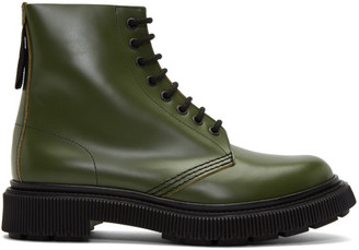 Études Green Adieu Edition Type 29 Lace-Up Boots