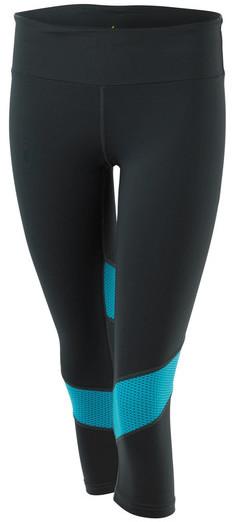 Pheel - Getaway 6/8 Inch Compression Pant In Graphite/Aquamarine