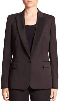Stella McCartney Ingrid Wool Tuxedo Blazer