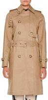 Stella McCartney Macintosh Cotton Trenchcoat, Fawn