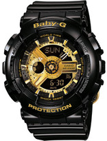 Baby-G Baby G New Style Duo Series Black With Gold Face