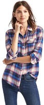 Gap + Pendleton boyfriend shirt