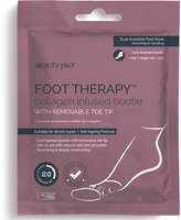 BeautyPRO Foot Therapy Collagen Infused Bootie with Removable Toe Tip (1 Pair)