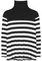 Velvet Aretha striped tutleneck top
