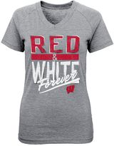 Palladium Girls 4-6x Wisconsin Badgers Tee