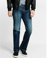 Express classic fit boot leg jeans