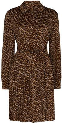 Burberry Fedora monogram print shirt dress