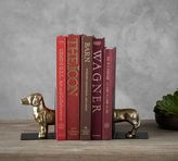 Pottery Barn Dachshund Bookends