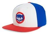 American Needle Men's The Big Show Mlb Snapback Baseball Cap - Blue