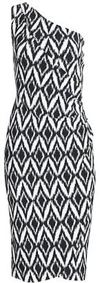 Chiara Boni Gosia One-Shoulder Dress