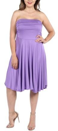 Lilac Plus Size Dress - ShopStyle