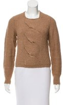 Marc by Marc Jacobs Cable Knit Wool Sweater