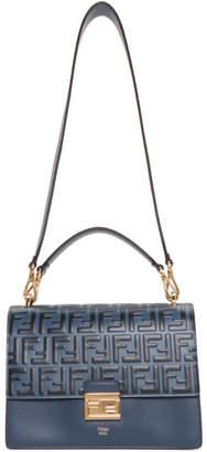 Fendi Blue Large Forever Kan U Bag