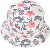 Thom Browne floral print bucket hat - men - Cotton - One Size