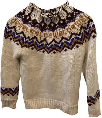 Loewe White Wool Knitwear for Women