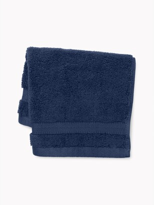 Signature Solid Washcloth in Medieval Blue