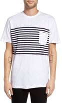 Barney Cools Men's B Original Stripe Pocket T-Shirt