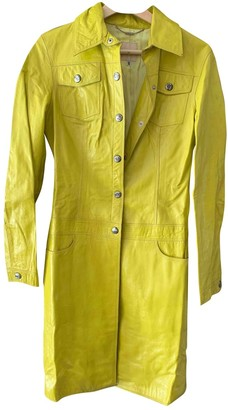 Versus Green Leather Jacket for Women