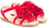 Aquazzura Mini - Wild sandals - kids - Leather/Suede - 28