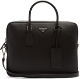 Prada Saffiano-leather briefcase