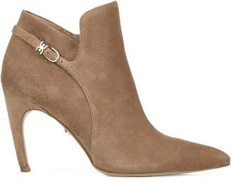 Sam Edelman Fiora Suede Heeled Ankle Booties