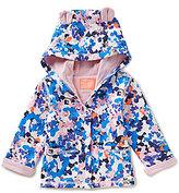 Joules Baby Girls Newborn-12 Months Floral-Printed Animal Hooded Jacket