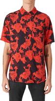 Neuw Batik Short Sleeve Button-Up Shirt
