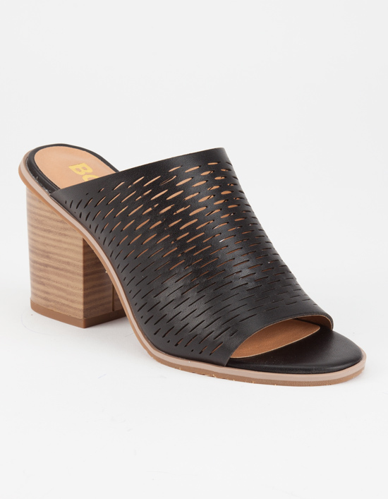 BC Footwear BC Told You Womens Mules