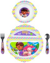 The First Years Feeding Set - Doc McStuffings - 4 ct