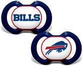 Baby Fanatic NFL Buffalo Bills 2-Pack Pacifiers