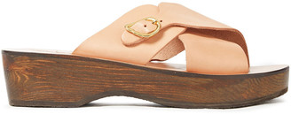 Ancient Greek Sandals Marilisa Smooth And Mirrored-leather Sandals