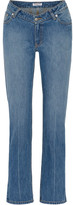 Opening Ceremony Dip Mid-rise Straight-leg Jeans