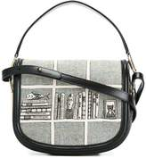 Olympia Le-Tan printed hobo crossbody bag