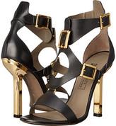 Versace Oro Bizantino Open Toe Heel
