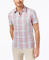 Ryan Seacrest Distinction Ryan Seacrest DistinctionTM Men's Slim-Fit Plaid Sport Shirt, Created for Macy's